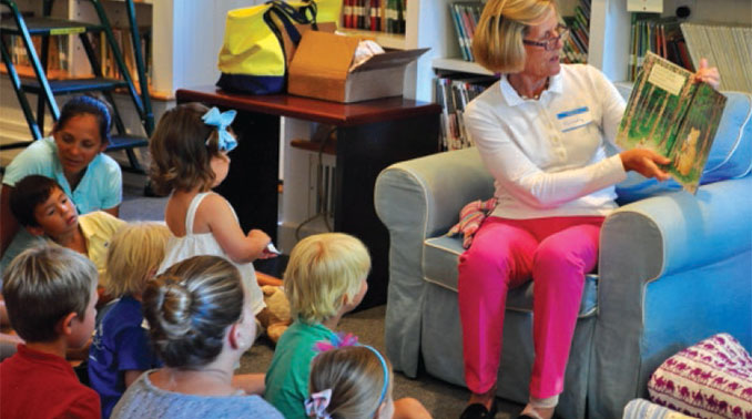 Children's Story Hour Tuesday August 7