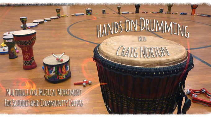 Hands On Drumming By Craig Norton August 21