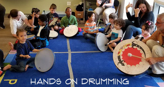 Hands On Drumming Children's Event August 21
