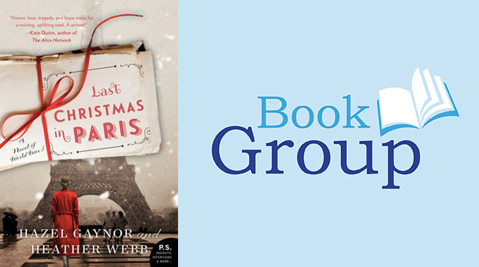 Book Group December 13: Last Christmas In Paris