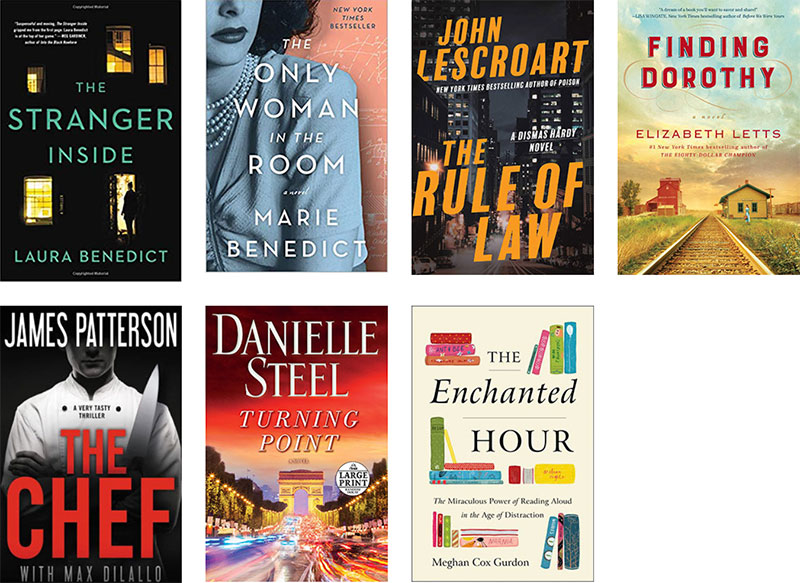 Newest Books As Of February 2019